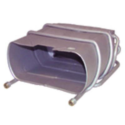 "Ölschlauch F1/4"" x F1/4"" gewinkelt 90°  Lg. 1000  (X 2) - BAXI : S58366610"