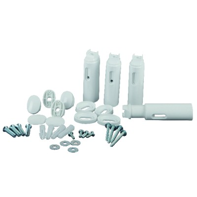 Wall-mounting kit (x4) straight/curved (X 4) - ATLANTIC : 098191