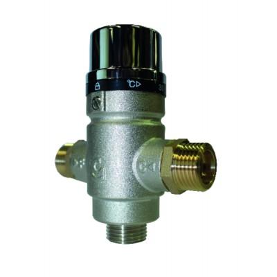 Válvula mezcladora termostática M1/2''