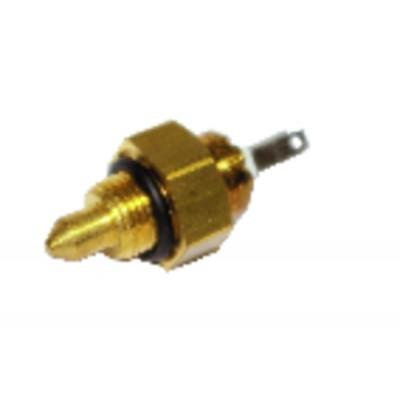 Gasket flange burner 4kg 87x140 - DIFF for Chappée : S58390081