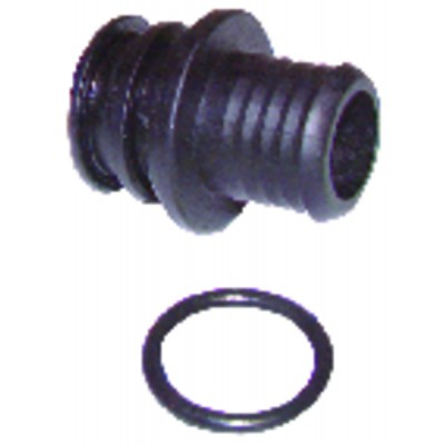 """Termopar - Derivación de termopar universal Empalme M8 - M9 - M10 - 11/32"""") + cable 1m"""