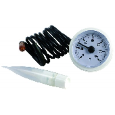 Termostato para calentador de agua COTHERM - Tipo BTS 270 con 2 bulbos - COTHERM : KBTS 900107