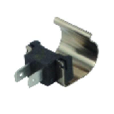 Thermostat à canne COTHERM - Modèle embrochable par boitier d'adaptation TUS 450E - COTHERM : TUS0014007