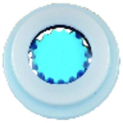 Sicherheit - Blauer Schlüsselkasten