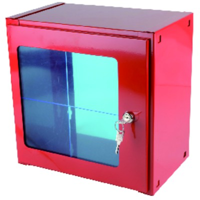 Safety - Key box cabinet and safety valve