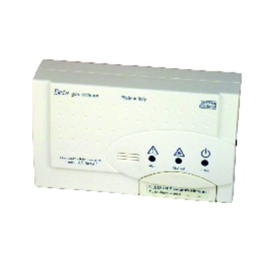 Gas leak detector with replaceable sensor, type SE333KM (natural gas) - TECNOCONTROL : SE333KM