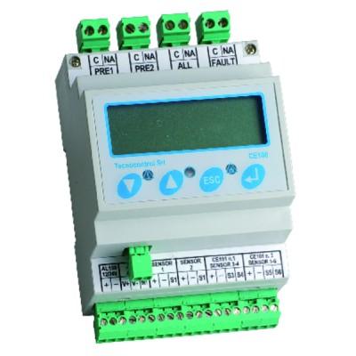 GAS DETECTOR  - CE100 6 AREAS GAS DETECTION CENTRAL UNIT - TECNOCONTROL : CE100