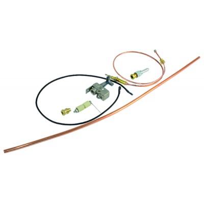 Domestic heat exchanger 14 plates - CHAFFOTEAUX : 61302409-01