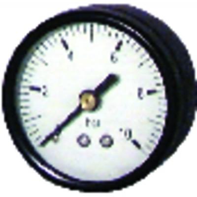 Manómetro 0 a 6 bar Ø50mm