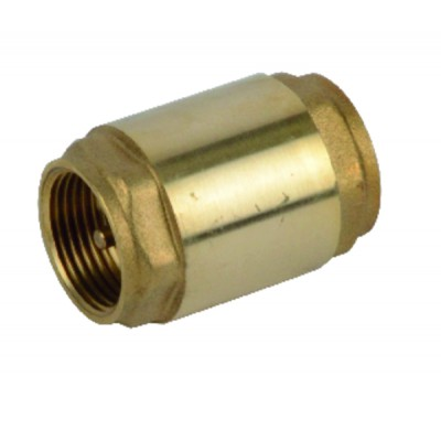 """Clapet de non retour obturateur laiton F1""""1/2 - RBM : 8600802"""