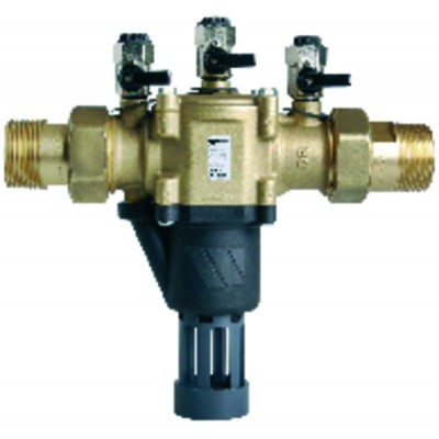 "Backflow preventer controllable reduced pressure zone BA 1 1/4"" - WATTS INDUSTRIES : 2231450"