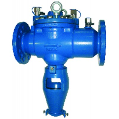 Controllable flanged backflow preventer reduced pressure zone BA 80 - WATTS INDUSTRIES : 2231822MC
