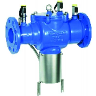 Runder Rauchthermometer 50 bis 500°C Durchmesser 80mm Fühler 15
