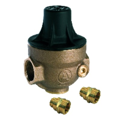 Isobar water pressure reducer multi-threaded 1/2 to 3/4 composite cover ISOPLUS CC - ITRON : ISOPLUSCCMG