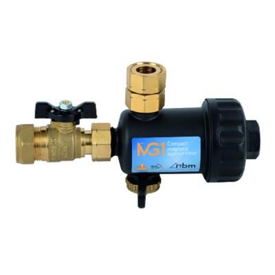 Steam pressure gauge 0/10 bar ø 100mm