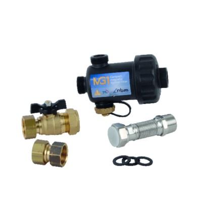 """Disconnettore zona di pressione ridotta ba controllabile 1/2"""" - HONEYWELL ECC : BA295-1/2ZF"""