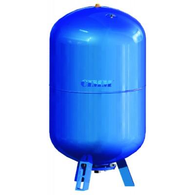 Réservoir à vessie interchangeable vertical 150L  - CIMM : 620150