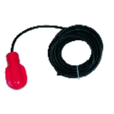 Float switch 8A 250V 3 wires in 10ml - DISTRILABO : NIVA10