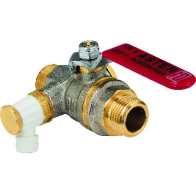 Cordon chauffant pour canalisation - 12m 220V avec prise et thermostat intégré