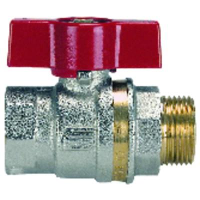 Bastón cromado lg 1000mm x 16mm - GIACOMINI : R194X004