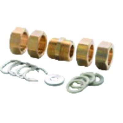 Weichgeglühtes Kupferrohr Krone von 5m (2mm x 4mm)