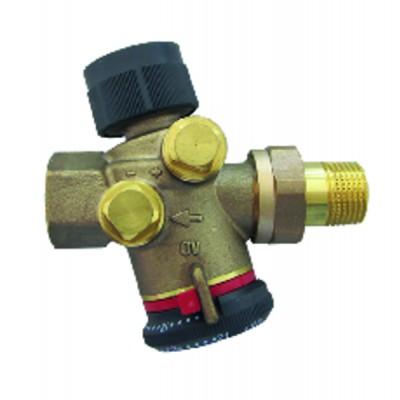 Mastix Silikon sanitär GEB weiß (Patrone 310ml)   (X 12) - GEB : 893150