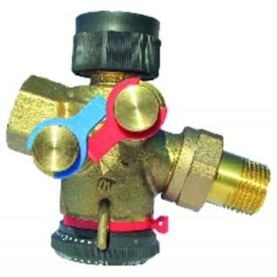 Estanqueidad de roscados - Cinta ptfe gas -vapor 12mm - GEB : 815200