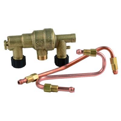 Drain tap & connection 1/8m