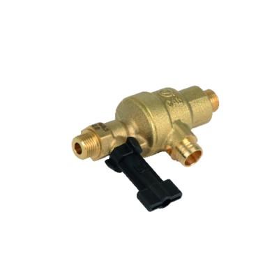 Manomètre prise axiale 0 à 6 bar Ø50mm