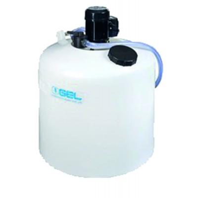 Fuel water air glycerin 0-4 bar ø63mm