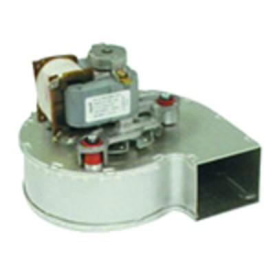 Runder Druckmesser - 0 bis 120°C - 0 bis 6 bar Durchmesser 58mm Lg. 1500