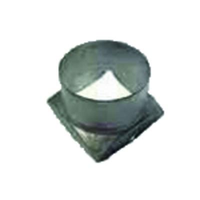 Runder Druckmesser - 0 bis 120°C - 0 bis 4 bar Durchmesser 63mm
