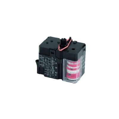 Cordon chauffant pour canalisation - Cordon 6m 220V avec prise et thermostat intégré