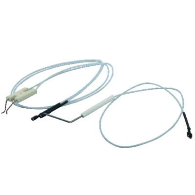 Kit 2 flessibili gasolio VITON diritti 1M
