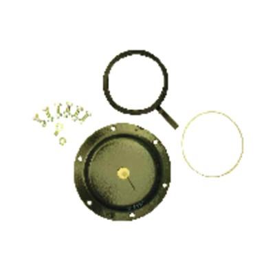 Flachdichtung 26 x 34 EPDM scwarz   (X 100)
