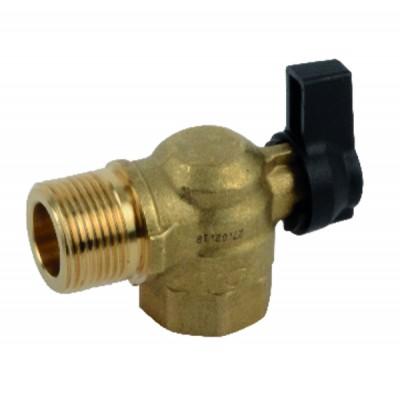 Sanitäre Umwälzpumpe Ups25-80 N 180 1X230 50Hz 9H  - GRUNDFOS : 95906439