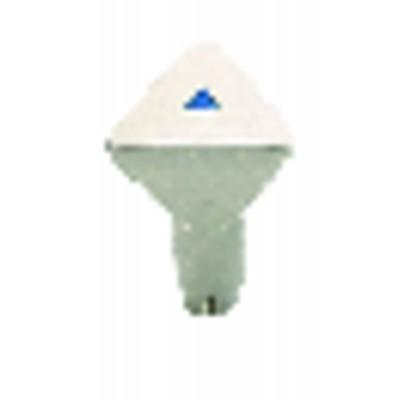 Deshollinamiento químico de pellets