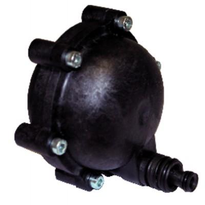 Tournevis plat électricien 2.5x177mm - KNIPEX - WERK : 98 20 25