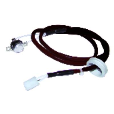 Tournevis cruciforme Pozidriv® d'électricien PZ2 - KNIPEX - WERK : 98 25 02