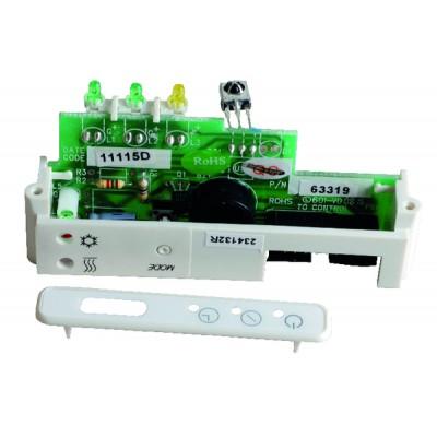 3 way terminal valve- brass - SIEMENS : VXP47.15-2.5