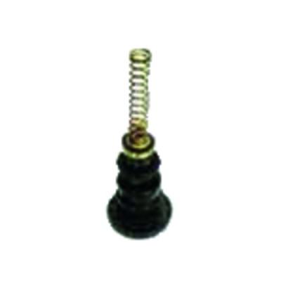 Filtro gasoil 2 conductos con válvula de corte - OVENTROP : 2120261+2127500