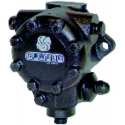 Termostato ambiente programmabile - HAGER EK520 a pile LR6 - HAGER SAS : EK520