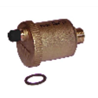 Accesorios   termometro industrial - Vidrio 0 a 120°C recto immersión 100mm