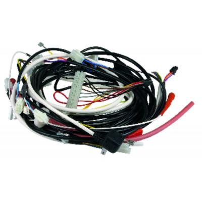 Thermostat ambiance 4 tubes 3 vitesses été/hiver - JOHNSON CONTROLS : T125FAC-JS0-E