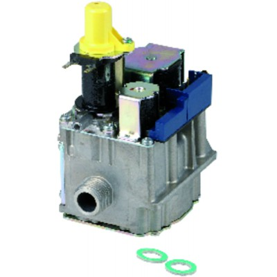 """Cooling tools - Reduction fitting F3/8"""" gas  x FM1/4"""" flare - DANFOSS : 017-420566"""