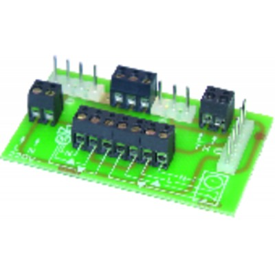 Main PCB - DIFF for Frisquet : F3AA40652