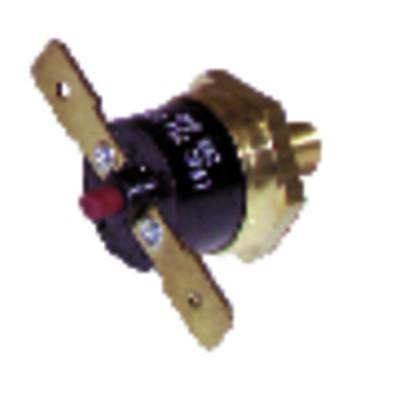 Bimetal snap disc - 94°C 220V - DIFF for Frisquet : F3AA40157