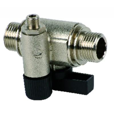 Honeywell gas valve - v4400k1007  - HONEYWELL BUILD. : V4400K 1007U