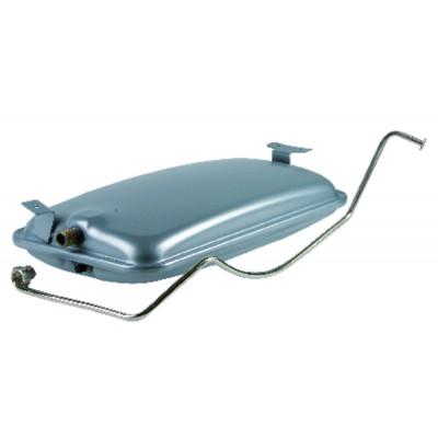 Controlador de caudal con paleta - Type VHS07M - SIKA FRANCE : VHS07M-MS