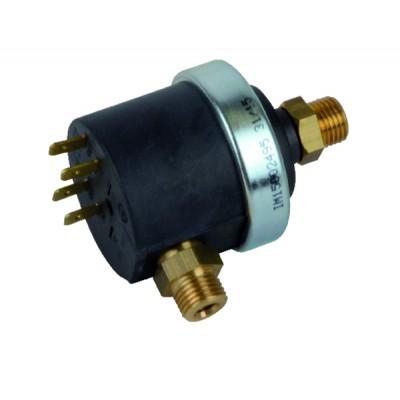 Kehrstange - Adapteranschluss steckbar - m12 x175